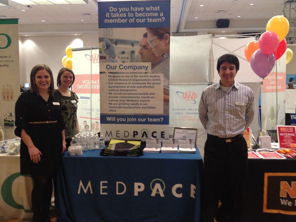 Medpace team at Spring Career - Medpace Office Photo Glassdoor