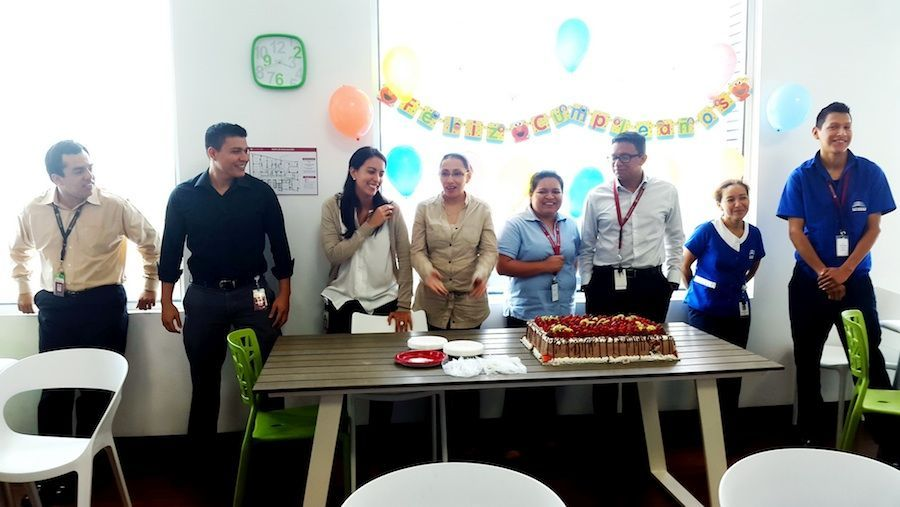 A monthly birthday celebratio - RULESWARE Office Photo