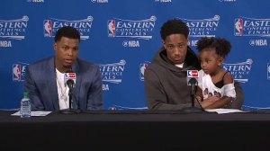 Lowry, DeRozan talk Raptors being taken as serious contenders for NBA title