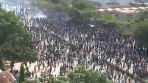 Raw video: Protesters storm parliament in Burkina Faso
