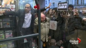 New edition of French magazine Charlie Hebdo selling out