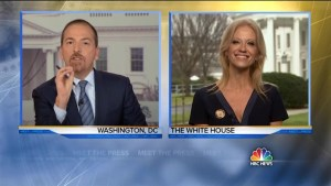 Kellyanne Conway defends White House press secretary's inauguration numbers as 'alternative facts'