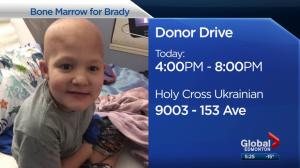 Stem cell swab event for Brady