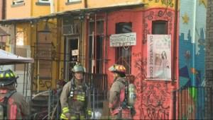 One injured in Kensington Market fire