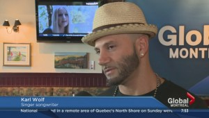 Karl Wolf visits the Montreal Morning News