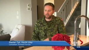 Alberta soldier explains importance of military uniform