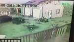 RAW: Tornado tears roof off shed and tips over bus in Waywayseecappo First Nation