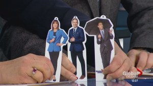 Global Calgary anchors get holiday ornaments of themselves