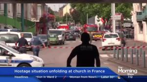 2 attackers, 1 hostage killed in siege at church in France