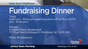 Community Events:  Help Save Matthew Fundraiser