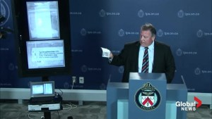 Toronto Police explain risks of research drugs