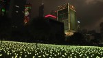 Public art installation lights up Hong Kong ahead of Valentine's Day