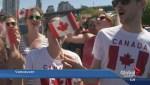 'O Canada' sung across Canada