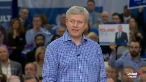 Harper dodges question on attending rally with Rob Ford