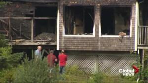 Lightning destroys Nova Scotia home