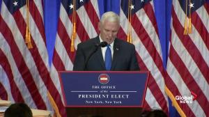 Mike Pence says 'media bias' behind recent Trump allegations