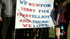 Students run for two Terrys in annual Terry Fox run