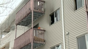 Residents remain displaced a week after apartment building blaze