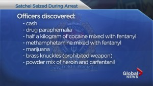 Victoria Police record first confirmed seizure of deadly carfentanil in the city.
