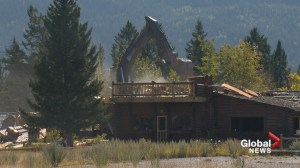 Former owners heartbroken as Rafter Six Ranch lodge demolished near Calgary