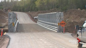 New Brunswick's Route 114 reopens
