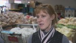 Breaking down the twice a month food bank by CMWI, Winnipeg Harvest