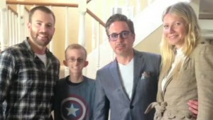 Captain America, Iron Man put aside their differences to visit cancer-stricken child