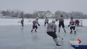 Auburn House 3 on 3 hockey tournament in Calgary