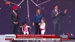 Trudeau apologizes for failing to mention Alberta in Canada 150 speech