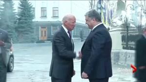 Biden reaffirms sanctions against Russia during visit to Ukraine