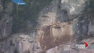 No apparent injuries in huge landslide on Stawamus Chief
