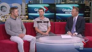 PGA Tour Canada players Adam Cornelson and Brad Clapp