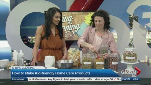 Natural homemade products for kids by kids