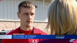 'You're just anticipating the end': Oregon college student discusses lockdown