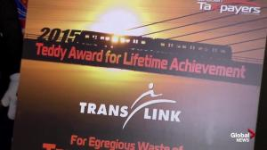 Lifetime Teddy award goes to Vancouver's TransLink