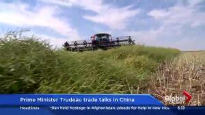 Justin Trudeau's trade talks in China
