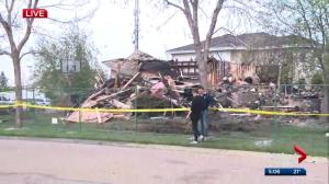 Sherwood Park house destroyed in overnight fire