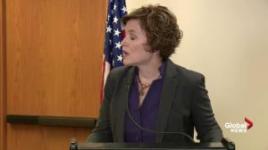 Mayor of Minneapolis Betsy Hodges says she won't resign