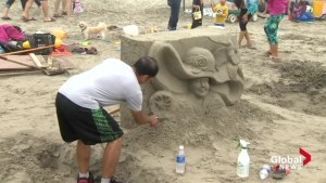 Clam Harbour Sandcastle Competition