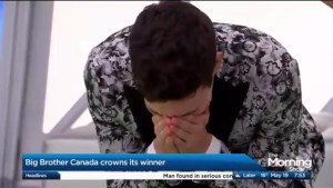 Kevin wins Big Brother Canada