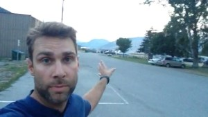 Global's Jordan Witzel  describes evacuating Rock Creek campground