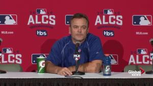 John Gibbons confident Blue Jays will fair well against Cleveland's Game 5 starter