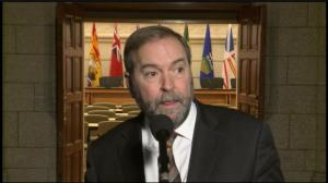 Mulcair urges party leaders to develop better process in wake of MP sexual assault allegation