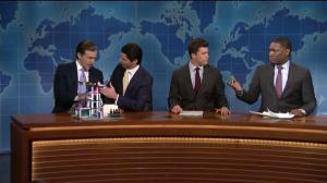 First son's Eric, Donald Trump Jr. defend Dad on Weekend Update Summer Edition