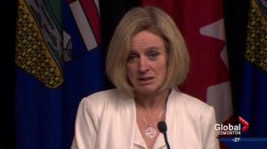 Premier Notley's 'taking a bus' comment creates online uproar