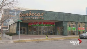 Calgary store Eisenbergs' Fine Furniture closing after nearly 100 years