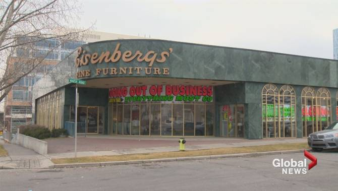 Calgary Store Eisenbergs Fine Furniture Closing After Nearly 100 Years Glo