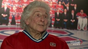 Habs come through for 91-year-old superfan