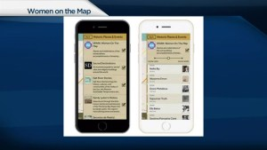 New app puts women on the map