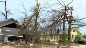 Mississippi hit by severe weather, tornadoes